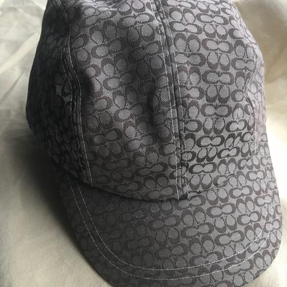 Nwt Coach signature Logo baseball cap 71d1d58a30e